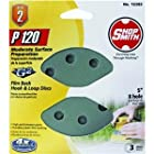 ali industries 12283 Shopsmith, 3 Pack, 5 -Inch, 8 Hole, 120 Grit, Hook and Loop Sanding Disc