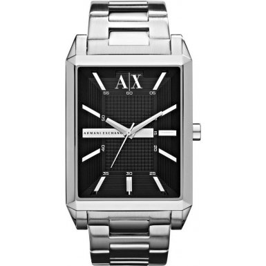 Armani Exchange AX2110 Mens BOCA Black Silver Watch