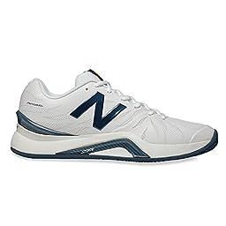 New Balance Mens MC1296V2 Tennis Shoe, Size: 7 Width: D Color: White/Blue