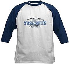 CafePress Kids Baseball Jersey - Yosemite National Park Califo Kids Baseball Jersey