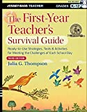 img - for The First-Year Teacher's Survival Guide : Ready-To-Use Strategies, Tools & Activities for Meeting the Challlenges of Each School Day [With DVD] (Paperback)--by Julia G. Thompson [2013 Edition] book / textbook / text book