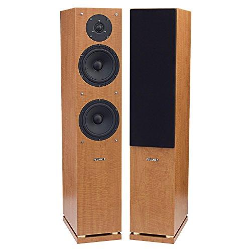 Fluance SXHTBFR High Performance Two-way Floorstanding Main Speakers