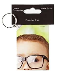 Snap Clear Photo Keychain