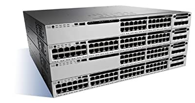 Cisco Catalyst WS-C3850-48P-S Ethernet Switch 48 Ports, Manageable, 48 X Poe+ . 10/100/1000Base, T Poe Ports, Rack Mountable