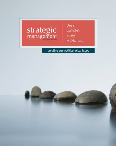 Strategic Management: Creating Competitive Advantages PDF