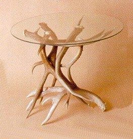 Cheap Deer Antler End Table Base (B002IOK6NC)