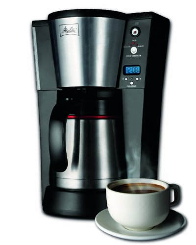 melitta 10-cup thermal coffeemaker