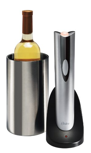 Oster Rechargeable Wine Bottle Opener with Wine Chiller - 4208 (Oster Chiller compare prices)