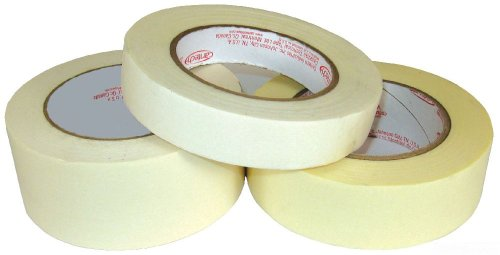 L.H. Dottie 200Mt Indoor Masking Tape, 2-Inch Width By 60 Yard Length, Tan, 24-Pack