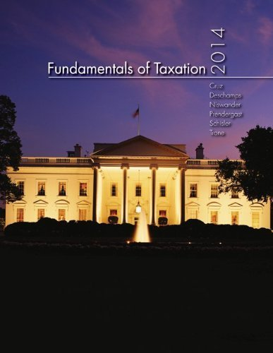 MP Fundamentals of Taxation 2014 Edition with TaxAct Software CD-ROM 7th (seventh) by Cruz, Ana, Deschamps, Michael, Niswander, Frederick, Prender (2013) Paperback (Taxact 2014 Software compare prices)