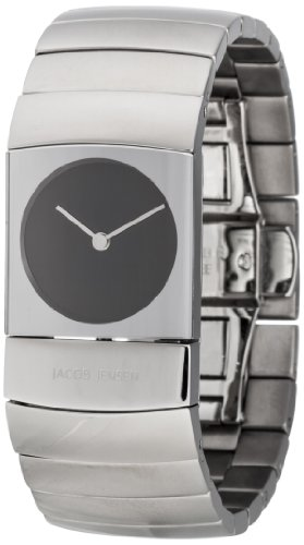 Jacob Jensen 581 - Reloj de pulsera Unisex, Titanio, color Plateado