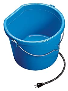 API 5 Gallon 130 Watt Heated Flat Back Bucket  20FB