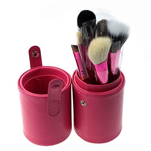 meiwei-12-pcs-maquillaje-cepillo-conjunto-cilindro-lana-4-opciones-de-color-12-cylinder-pink