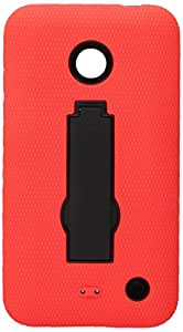 MyBat Symbiosis Stand Protector Cover for Nokia Lumia 635 - Retail Packaging - Black/Red