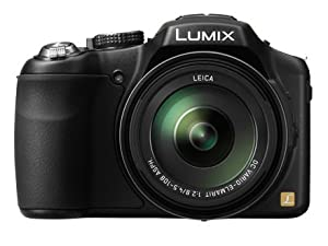 Panasonic Lumix DMC-FZ200 12.1 MP Digital Camera with CMOS Sensor and 24x Optical Zoom - Black - DMC-FZ200K +4GB SDHC CARD from Panasonic