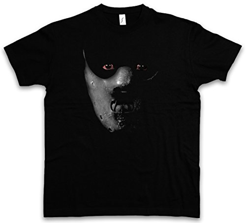 HANNIBAL MASK T-SHIRT - Il silenzio Manhunter degli innocenti Face Red The Silence der Lecter Dragon of Lambs Größen S - 5XL