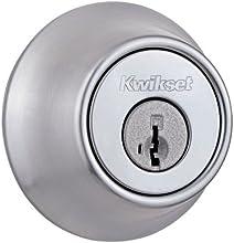 Kwikset 660 Single Cylinder Deadbolt featuring SmartKey® in Satin Chrome