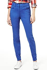 Denim 5 Pocket Jeggings [T54-8057-S]