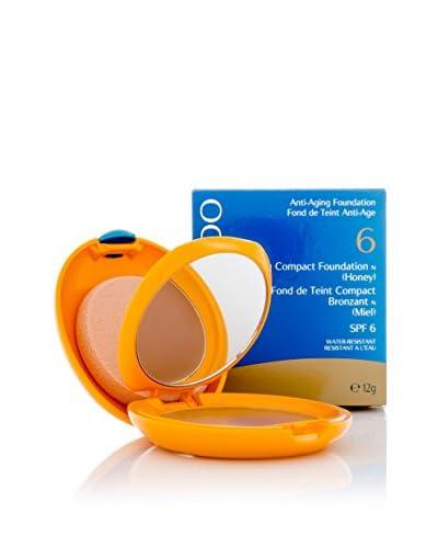 Shiseido Base Maquillaje Compacta Protectora SPF 6 Miel 12 gr