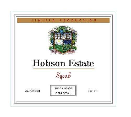 2010 Hobson Estate Syrah, California 750 Ml