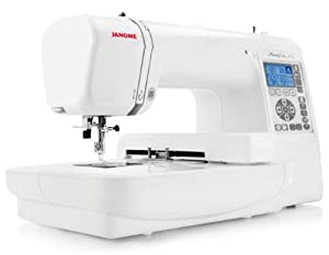 janome mc 200e embroidery machine