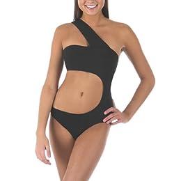 Product Image Xhilaration® Juniors Monokini Swimsuit - Black