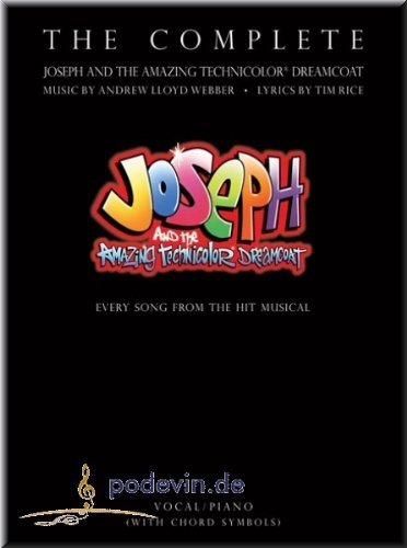 the-complete-joseph-and-the-amazing-technicolor-dreamcoat-gesang-noten-musiknoten