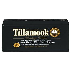 TILLAMOOK ® VINTAGE WHITE SHARP CHEDDAR CHEESE - (2 LB.) Baby Loaf ® Gift