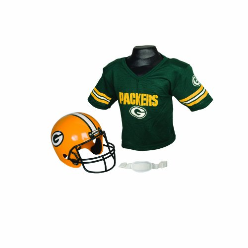 NFL Green Bay Packers Replica Youth Helmet and Jersey Set at Amazon.com