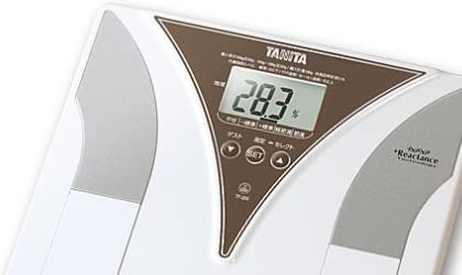 TANITA 内臓脂肪チェック付き体脂肪計 メタボスキャン ブラウン TF-205-BR