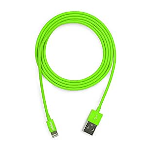 Ahha DonutString Sync & Charge Cable / Lightning Cable 1.2 M - Green (A-HCCB-1006)