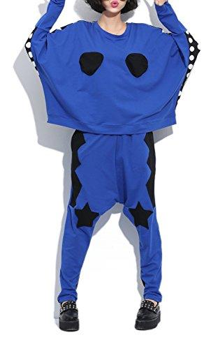 memorecool-damen-blouson-mantel-gr-einheitsgrosse-blau