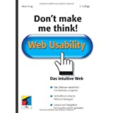 "Don't make me think!: Web Usability: Das intuitive Web (mitp Business)von ""Steve Krug"""