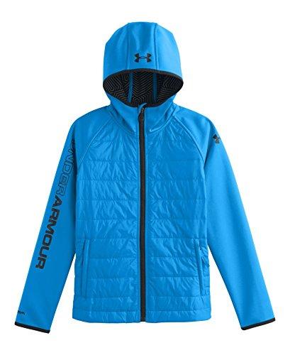 Under Armour Big Boys' Ua Storm Coldgear® Infrared Werewolf Jacket Youth Medium Electric Blue