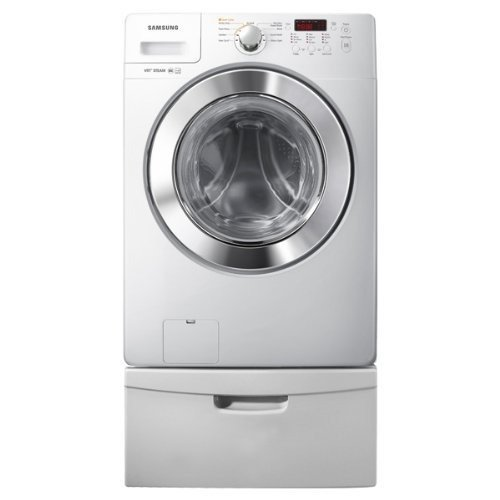 Samsung DV365GTBG 7.3 Cu. Ft. Capacity Gas Dryer with Steam Wrinkle Away and 9 Drying Programs, Neat White