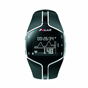 Polar FT80 Heart Rate Monitor and Sports Watch - Black/White