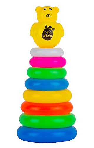 Yellow-Bear-Stacker-Toy