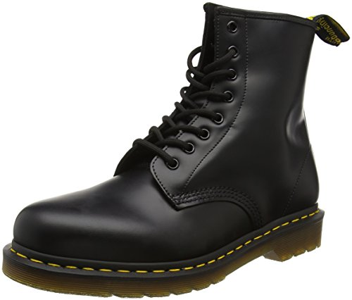 Dr. Martens 1460Z , Stivaletti Unisex Adulto, Nero (Black Smooth), 36