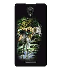 printtech Unicorn Angel Back Case Cover for Xiaomi Redmi 3S::Xiaomi Redmi 3::Xiaomi Redmi 3 (3rd Gen)