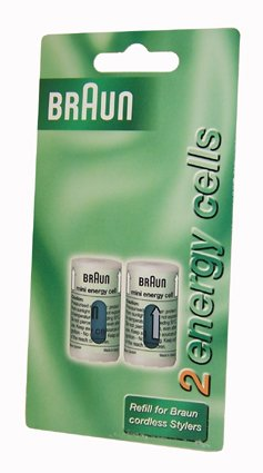 Cts2 Green Mini Energy Cells For Cordless Stylers X 2 By Braun