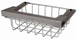 Rubbermaid Slide-Out Under-Shelf Storage Basket, Titanium (FG1H3200TITNM)