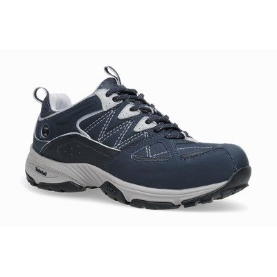 Timberland Pro Women's Willow Trail Hiker Shoes with Alloy Safety Toe - Navy 10 - Wide