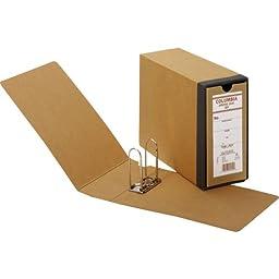 Globe-Weis Recycled Fiberboard Binding Case, High Arch, 3-1/8 inch, Kraft, Each GLW B50H
