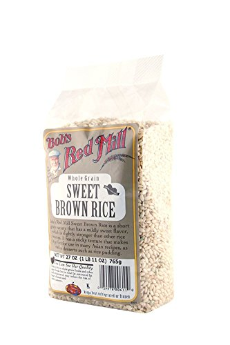 Bob's Red Mill Rice Sweet Brown, 27-Ounce (Pack of 4) (Brown Rice Sushi compare prices)