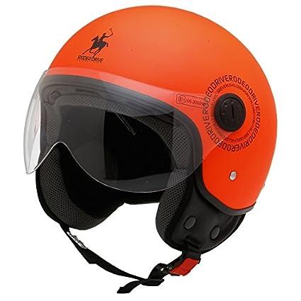 Rodéo Drive RD105-arflu-l Casque D / Jet Rd105, Orange