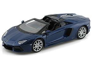 Lamborghini Aventador LP-700-4 Roadster 1/24 Blue by Lamborghini