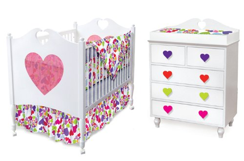 Room Magic  Nursery Set, Heart Throb