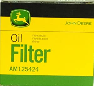 John Deere Oil Filter AM125424 from John Deere