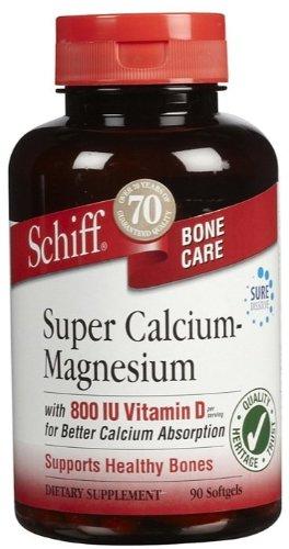 Super Calcium Magnesium - With Vitamin D And Boron, 90 Soft Gel ( Multi-Pack)
