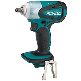 Bare-Tool Makita BTW253Z 18-Volt LXT Lithium-Ion Cordless 3/8-Inch Impact Wrench (Tool Only, No Battery)